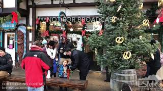 12-15-18 Leavenworth, Washington - Holiday Festivities and Large Crowds