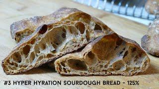 Hyper-hydration Bread Dough Challenge! Video 3 Develop The Gluten