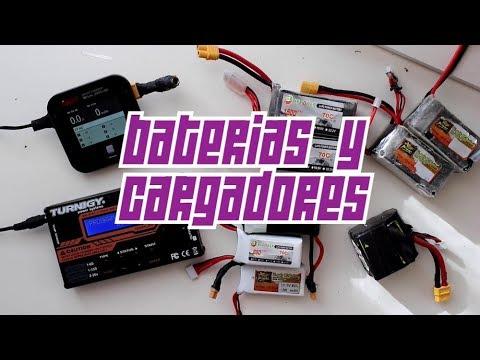 Baterías y cargadores de drones para principiantes