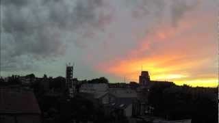 preview picture of video 'Sunset time lapse video in Wandsworth, London'