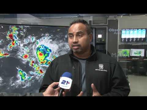 Remante de humedad provocará lluvias en la tarde y noche de este viernes