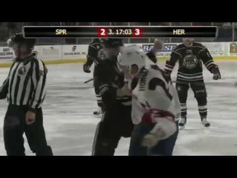 Zach Sill vs Ryan Horvat