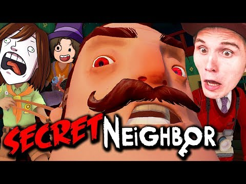 Der NACHBAR findet mich im SCHRANK! ✪ Secret Neighbor (Hello Neighbor MULTIPLAYER)