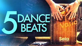 5 Dance Cajon Beats You Can Learn Today - YouTube