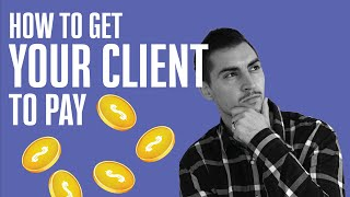 How to ask your client for payment