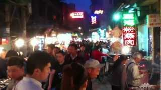 preview picture of video 'Xi'an, China -- Muslim Quarter Night Food Market'