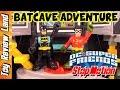 Batman And Robin Imaginext Batcave Stop Motion Adventure