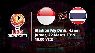 Hari Ini! Live Streaming Kualifikasi Piala Asia U-23 2020, Indonesia Vs Thailand, Pukul 16.00 WIB