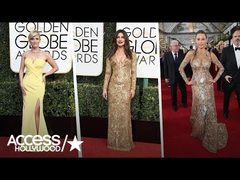 2017 Golden Globes Fashion Roundup