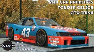 Sim Car Rankings - rFactor 2 Toyota Celica GTO IMSA