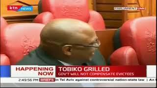 Environmental CS Koriako Tobiko Grilled by Parliamentary Environmental Committee