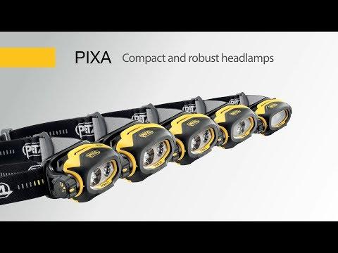 Смотреть видео Налобный фонарь Petzl Pixa 3