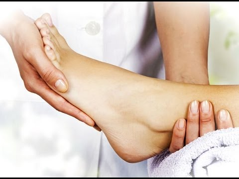 Video Lose weight with a foot massage