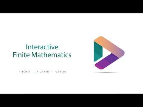 MyLab Math - Interactive Finite Math