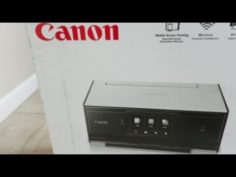 Canon TS9020 All-in-One with High Quality Photo Printer Unboxing and Review