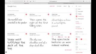 How To Choose Typefaces + Font Combinations Using Free Google Fonts For Your Business Or Blog