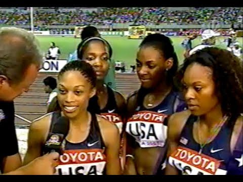 Women's 4 x 400m Relay - 2007 World Championships