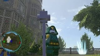 LEGO Marvel Super Heroes - Unlocking Ronan the Accuser + Gameplay (Character Token Location)