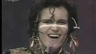 "Adam & The Ants ""Antmusic"" ""Los Rancheros"" Aplauso(Spain) 18-07-81"