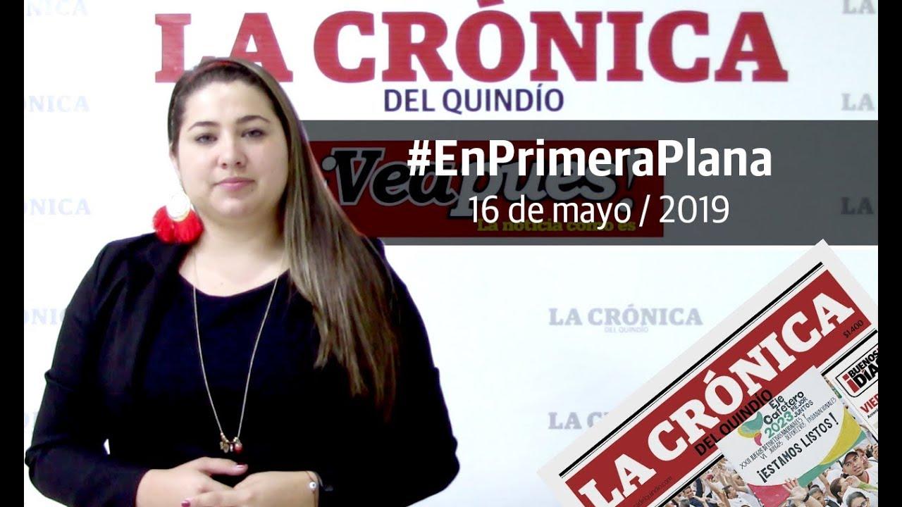 En Primera Plana: lo que será noticia este viernes 17 de mayo