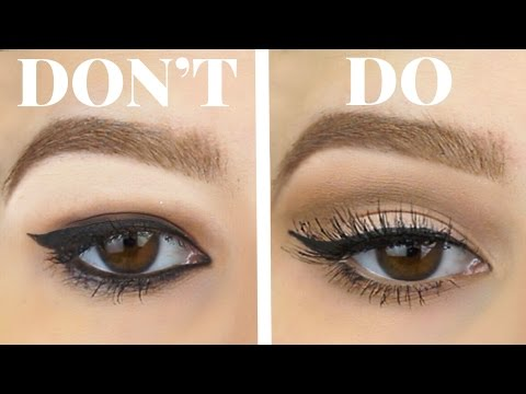 HOODED EYES DO'S AND DON'TS | Eyeshadow & Eyeliner For Bigger Eyes Makeup Tutorial