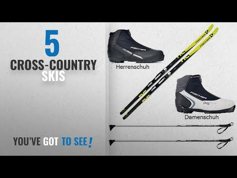 Top 10 Cross-Country Skis [2018]: Fischer Orbiter cross-country ski set, with binding, shoes,