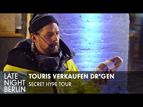 Berlin Touristen verkaufen Dr*gen - Secret Hype Tour ist zurück!   Late Night Berlin   ProSieben