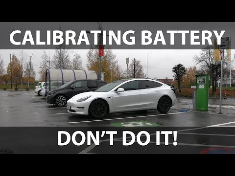 Calibrating battery in Model 3 part 2
