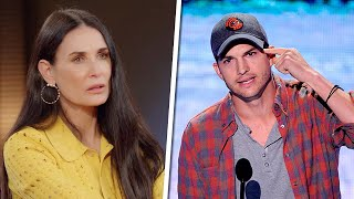Demi Moore Talks About Her Troubling 'Addiction' To Ashton Kutcher | Rumour Juice