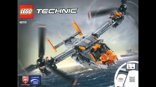 LEGO Instructions - Technic - 42113 - Bell-Boeing V-22 Osprey (withdrawn From Sale By LEGO Group)