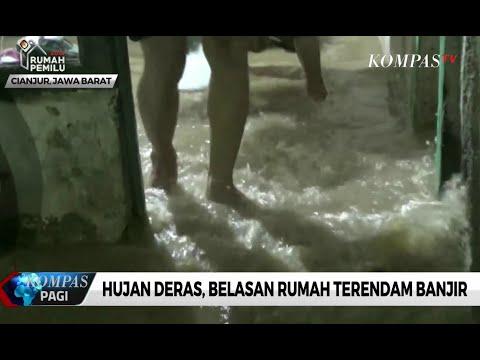 Hujan Deras, Belasan Rumah di Cianjur Terendam Banjir