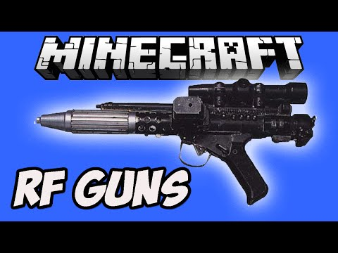 Minecraft Мод на оружие | RF Guns Mod  (Thermal Expansion 4 addon)