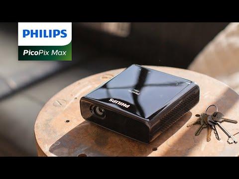 Philips PicoPix Max – 1080p Full HD Pico Projector-GadgetAny