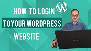 Inloggen in WordPress Tutorial