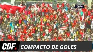 Unión La Calera 6 - 1 Universidad De Chile | Torneo Scotiabank 2018 Décima Fecha | CDF