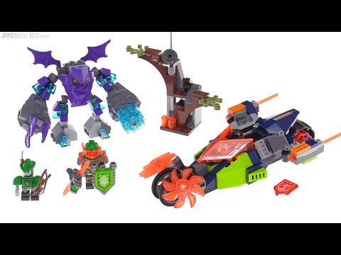 LEGO NEXO Knights Aaron's Stone Destroyer review! 70358