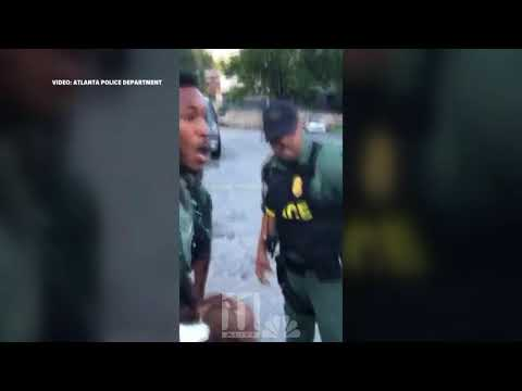 Full Video: Atlanta Police officer, suspect fight in viral arrest