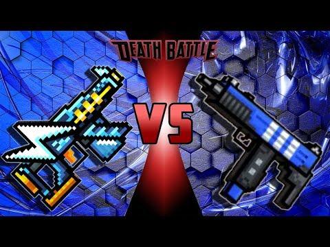 Pixel Gun 3D - Hypersound Uzi VS Social Uzi