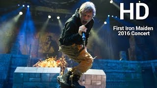 Iron Maiden Book of Souls Tour First Concert Live BB&T CENTER in HD 24.02.2016