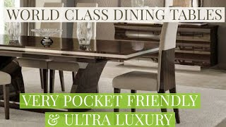 WORLD CLASS DINING TABLES | POCKET FRIENDLY DINING CHAIRS & TABLE | FURNITURE STORE IN AGRA