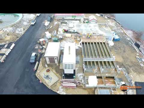 January 2020 Aerial Progress Video Peirce Island WWTF Project