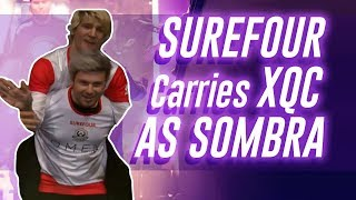 Surefour CARRIES XQc As Sombra Vs Redshell | Surefour Highlights #51