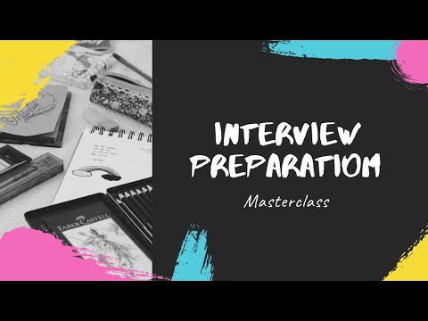 Interview preparations powered by confidence - Masterclass
