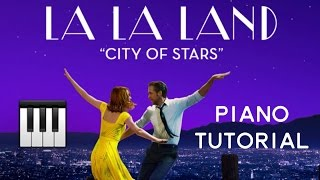 Gambar cover City of Stars (Justin Hurwitz arr. Ocean Jiang) [Easy-Intermediate Piano Tutorial]