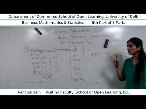 B.Com 2nd Semester (B.M.S) Lecture - Aanchal Jain  Part-5