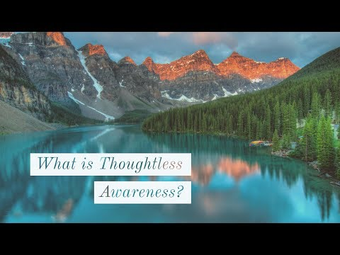 Thoughtless Awareness