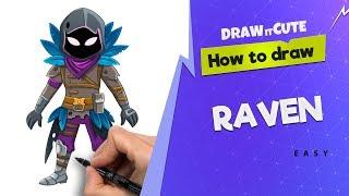 Raven Fortnite Drawing Step By Step 免费在线视频最佳电影电视节目