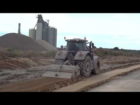 Budowa drogi ekspresowej S19 (obw. m. Kraśnik) - tydzień 02 - sierpień 2021 r.