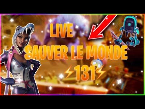 QUID DE LA MAJ ?? Live fortnite fr sauver le monde ps4 puissance 131 aide sur le jeu.
