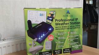 Aercus Wireless WeatherSleuth IP Weather Station